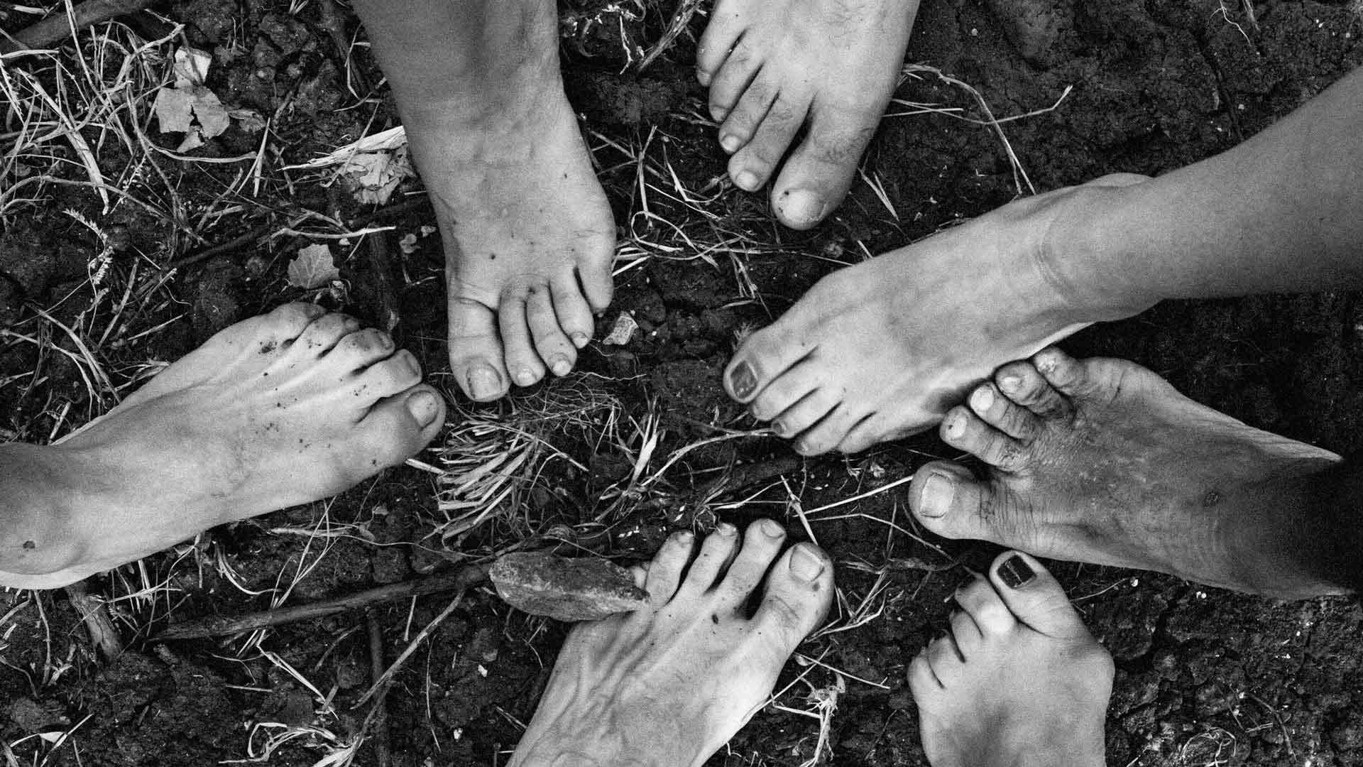 slide piedi